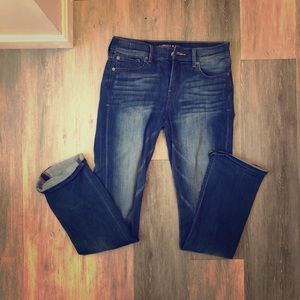 Boot cut express jeans